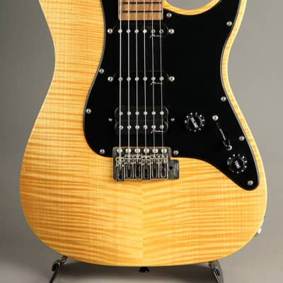Marchione Vintage Tremolo Drop Top Swamp Ash Body SSH/Trans Yellow 2010's for sale
