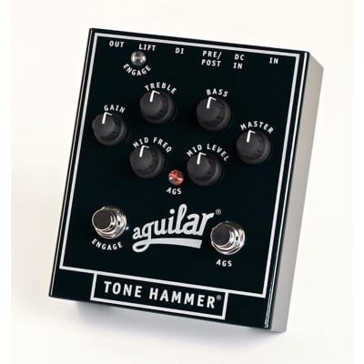 Aguilar APTH Tone Hammer Preamp/Direct Box Pedal for sale
