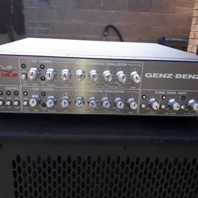 GenzBenz Genz Benz STL-MAX-12-2 Shuttle Max 12.2 Bass Head with Foot Switch for sale