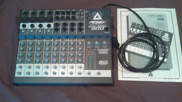 Peavey Unity 300 Mixer - 12 Channel | Pete's Music | Reverb