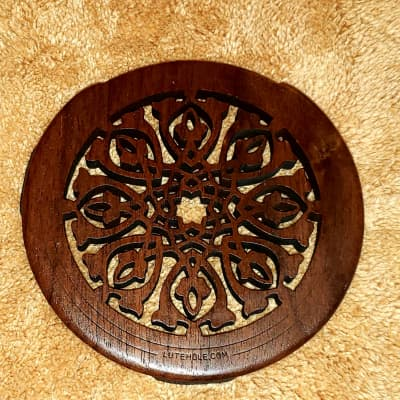 Lute Hole Company  Full SIZE scroll Beauty  2015ish Brown