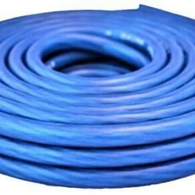 Absolute USA 8 GA 100' BLUE Power Ground Wire Car Audio Amplifier Marine Cable