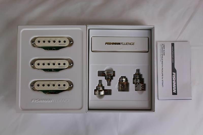 fishman prf str wh3 fluence single coil pickups set of 3 reverb. Black Bedroom Furniture Sets. Home Design Ideas