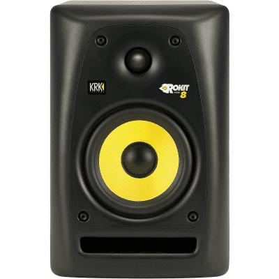 "KRK RP-8 Rokit G2 2-Way 8"" Active Studio Monitor (Single)"
