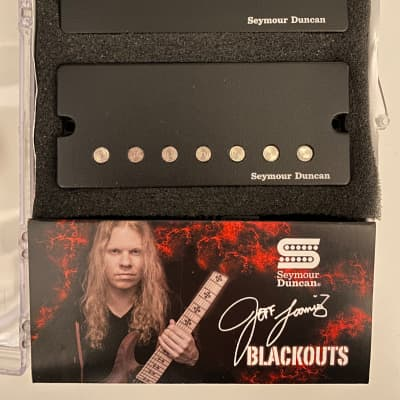 Seymour Duncan Jeff Loomis Blackout 7-String Active Mount Pickup Set