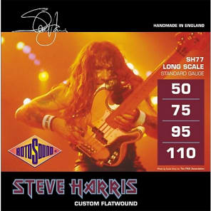 Rotosound SH77 Steve Harris Flatwound Bass Strings