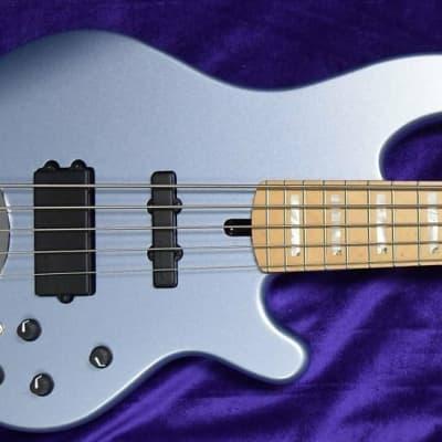 Lakland Skyline 55-02 Custom, Ice Blue Metallic / Maple