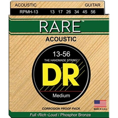 DR Strings Phosphor Bronze Acoustic 13-56