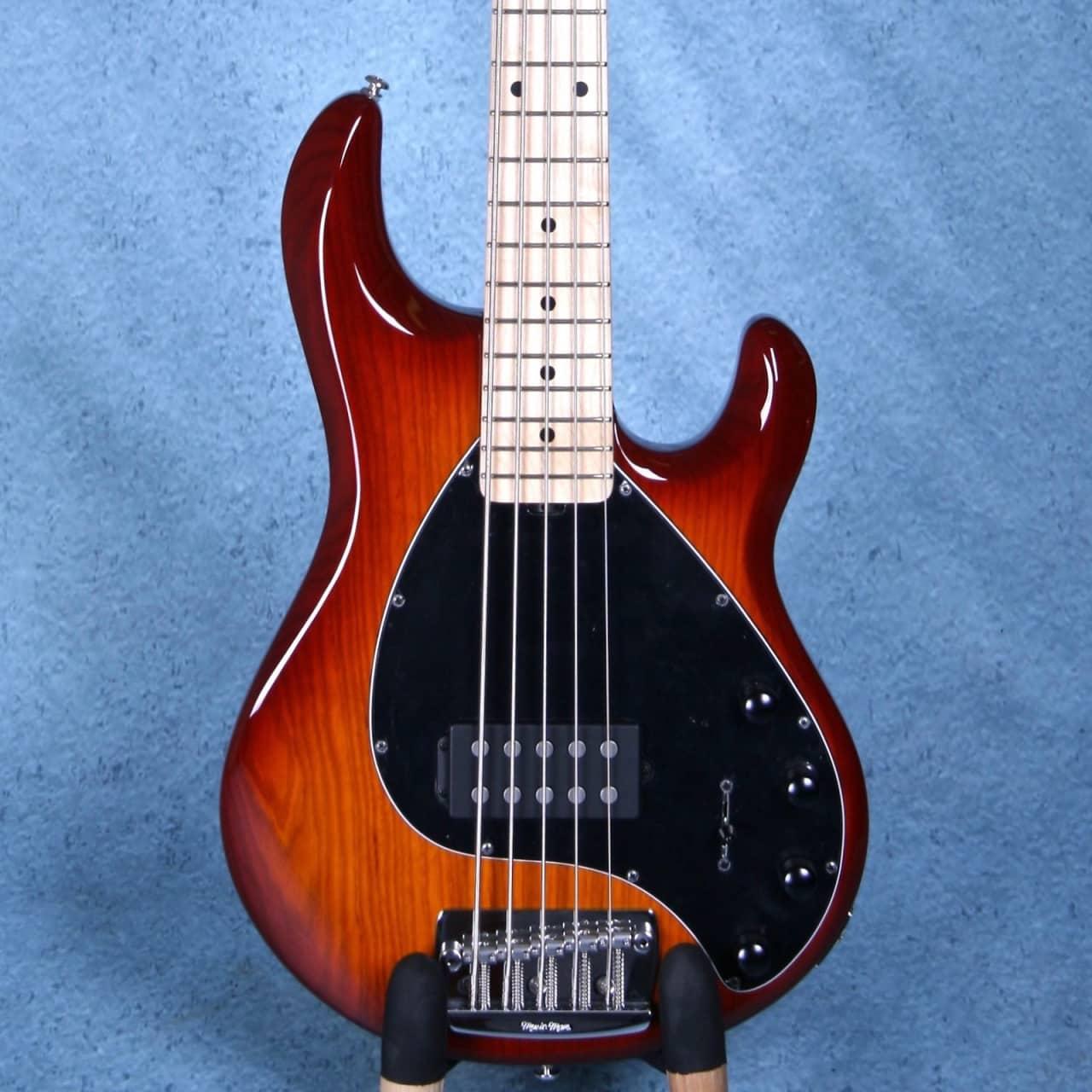 ernie ball musicman stingray 5 electric bass guitar honey reverb. Black Bedroom Furniture Sets. Home Design Ideas