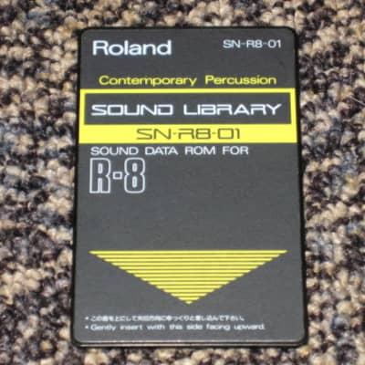 "Roland SN-R8-01 ""Contemporary Percussion"" Sound Data Rom for R-8"