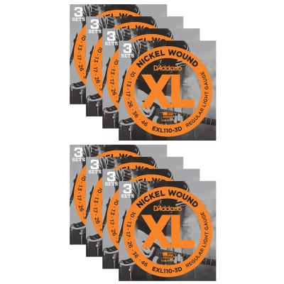 D'Addario EXL110 Electric 10-46 24-Pack Bundle image