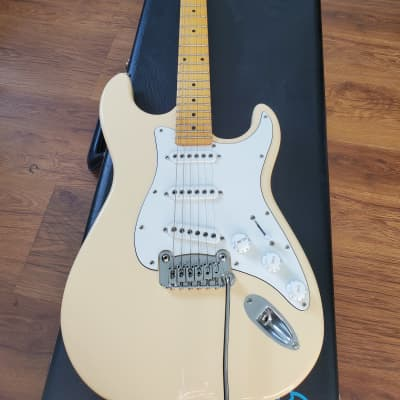 G&L Tribute Series S-500 Vintage White w/ Maple Fretboard for sale
