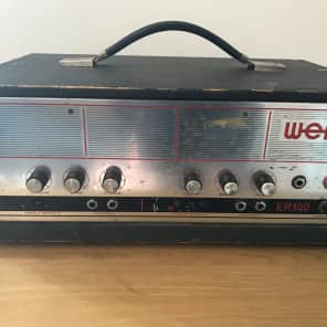 WEM ER100 Guitar Amplifier Head for sale