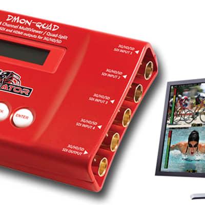 Decimator Design MC-DMON-QUAD openGear 4 Channel Multi-viewer with SDI outputs for 3G/HD/SD