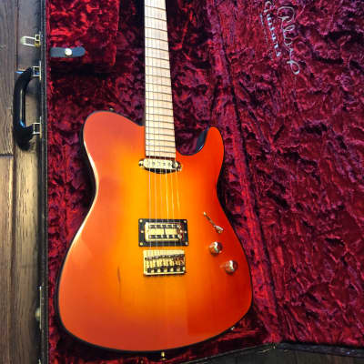C.R. Alsip Tejas-T Fireburst Signed & Played By Phil Collen (Def Leppard) Electric Guitar for sale