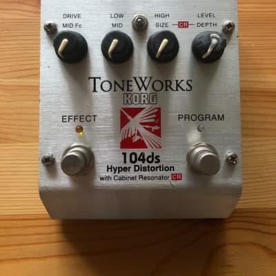 ✨ Korg ToneWorks 104ds Hyper Distortion Guitar Effects Pedal ✨ for sale