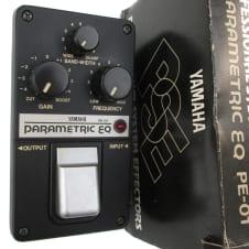Vintage 80's Yamaha PE-01 Parametric EQ Preamp Equalizer