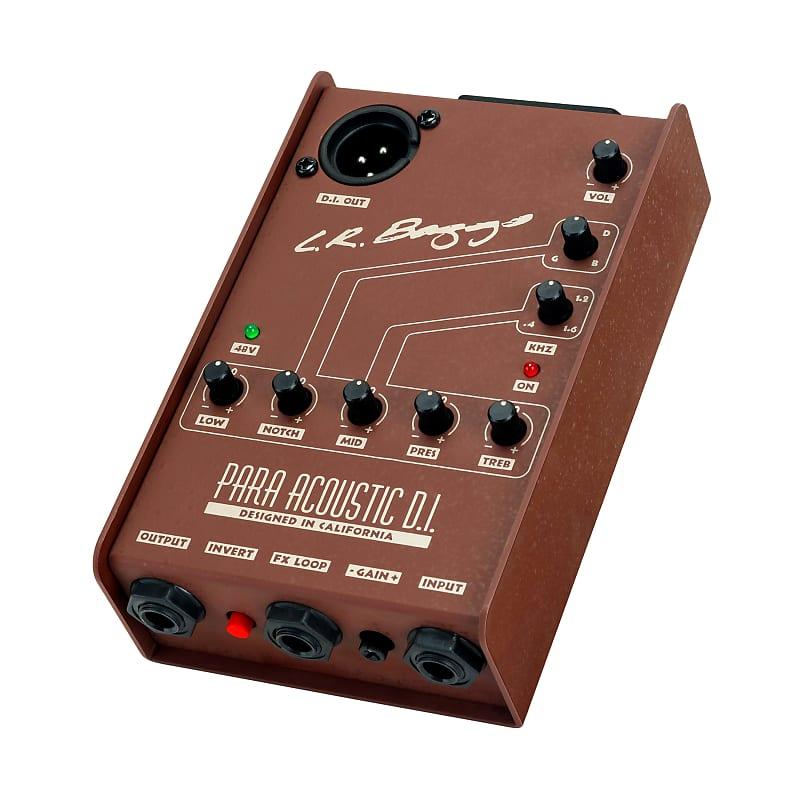 LR Baggs Para Acoustic DI Parametric 5-Band EQ / Direct Box