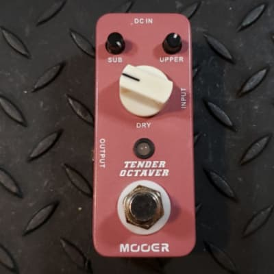 Mooer Tender Octaver Lawsuit piece V1 Octave FREE SHIPPING