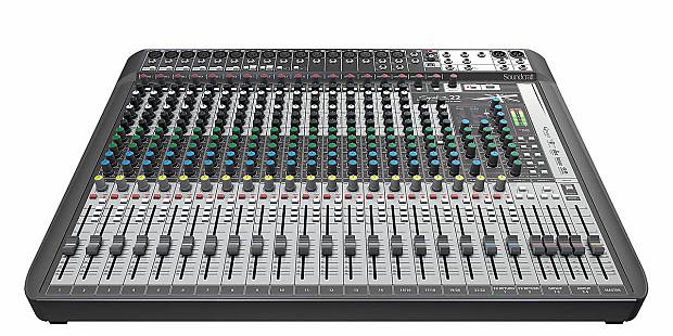 soundcraft signature 22 mtk multitrack usb mixer reverb. Black Bedroom Furniture Sets. Home Design Ideas