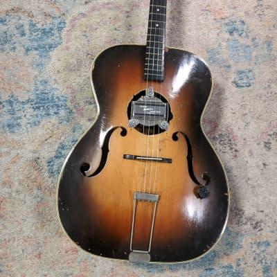 Bacon & Day Senorita Troubadour Archtop Tenor Guitar 1930s