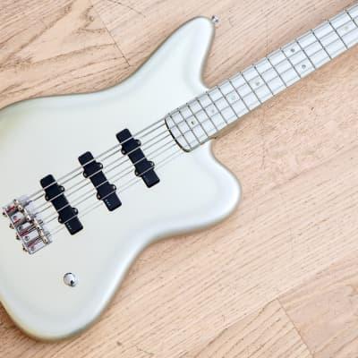 Edwards by ESP HEJ-100 Jaguar Kuroyume Hitoki Signature Silver Bass Guitar Japan for sale