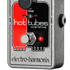Electro Harmonix Nano Hot Tubes Overdrive Pedal for sale