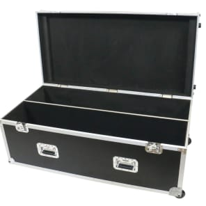 OSP ATA-RUC2LC Rolling Utility Case with 2 Long Compartments