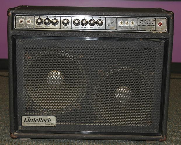 little rock vintage 150 2x12 guitar tube combo amp rare reverb. Black Bedroom Furniture Sets. Home Design Ideas