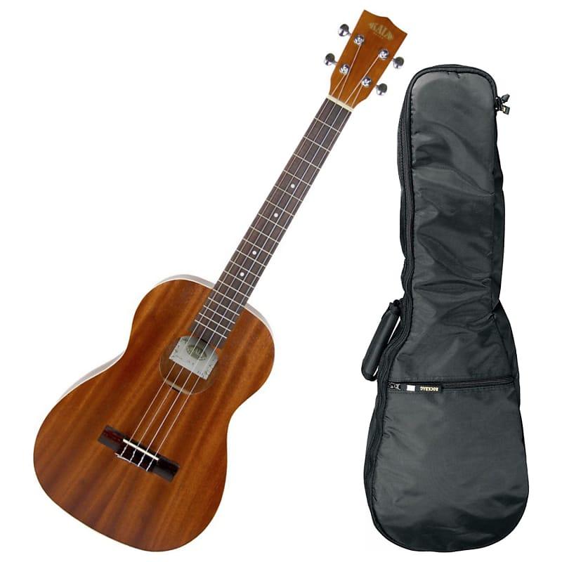 kala ka b baritone mahogany ukulele bundle geartree reverb. Black Bedroom Furniture Sets. Home Design Ideas