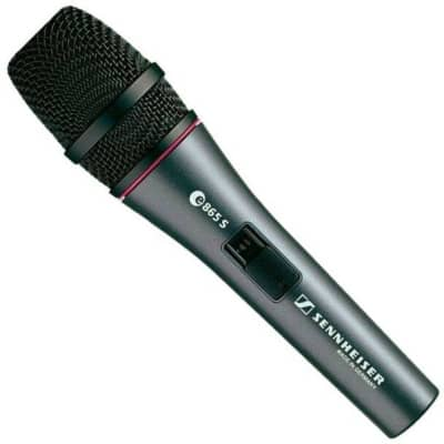 Sennheiser Handheld Supercardioid Condenser Microphone with On/Off Switch -  E865S