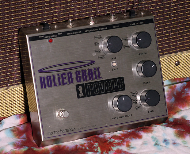 electro harmonix holier grail w power adapter free us reverb. Black Bedroom Furniture Sets. Home Design Ideas