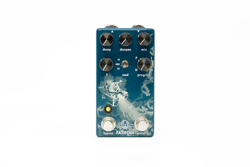 Walrus Audio Fathom Multi-Function Reverb Effects Pedal