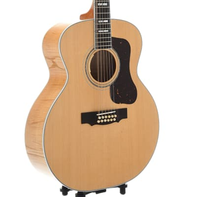 Guild USA F-512E Maple 12-String Acoustic Guitar with Case for sale