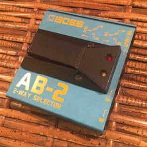 Boss AB-2 2-Way Selector Pedal