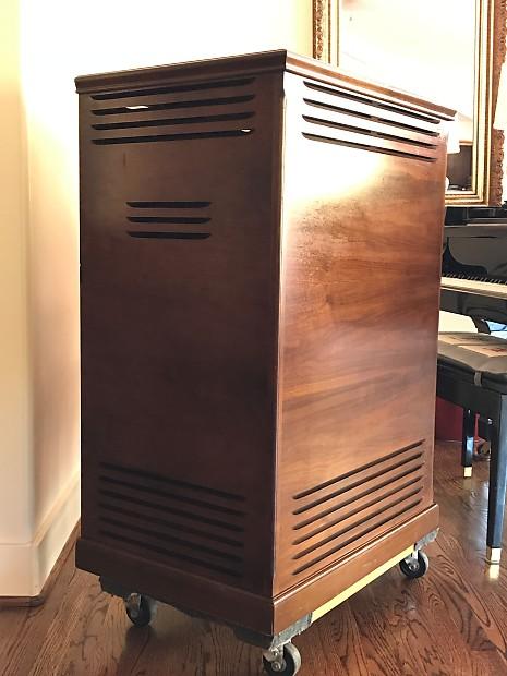 Etonnant Vintage 1975 LESLIE Speaker Cabinet 710 Hammond Organ Hamond B 3 Rotosonic