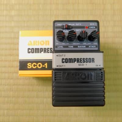 Arion SCO-1 Stereo Compressor w/ Original Box for sale