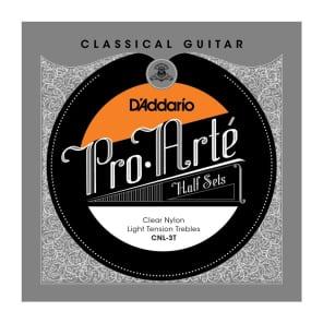D'Addario CNL-3T Pro-Arte Clear Nylon Classical Guitar Half Set Light Tension