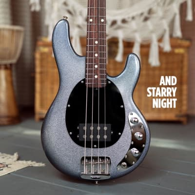 Ernie Ball Music Man Short Scale Stingray 4, Starry Night w/ Rosewood Board *LTD to 300 World-Wide! for sale