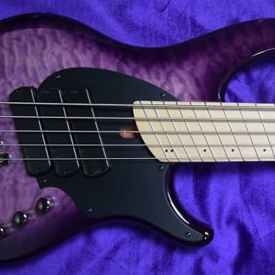 Dingwall Combustion (5-String), Ultra Violet / Maple / 3 Pickups. *In Stock!