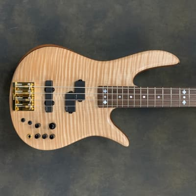 Fodera Victor Wooten Classic Monarch 2019 Flame Maple