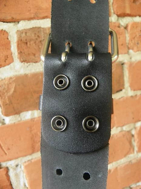 epiphone leather studded guitar strap reverb. Black Bedroom Furniture Sets. Home Design Ideas
