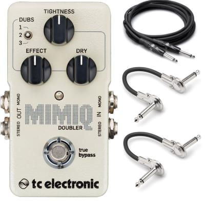 TC Electronic Mimiq Doubler with Hosa Cables