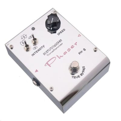 Biyang Tonefancier Ph-8 Phase Effect Guitar Pedal True Bypass with Gold Pedal Connector
