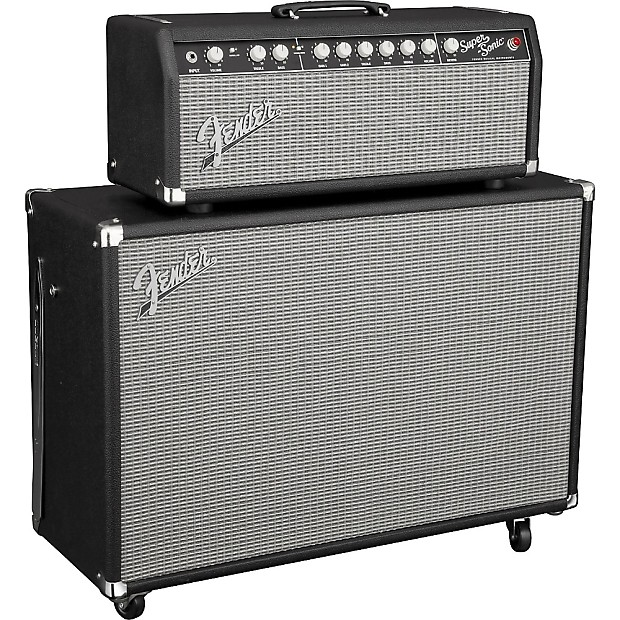 fender super sonic 22 22w tube guitar amp head regular black reverb. Black Bedroom Furniture Sets. Home Design Ideas