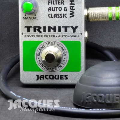 Jacques Trinity wah and filter with controler