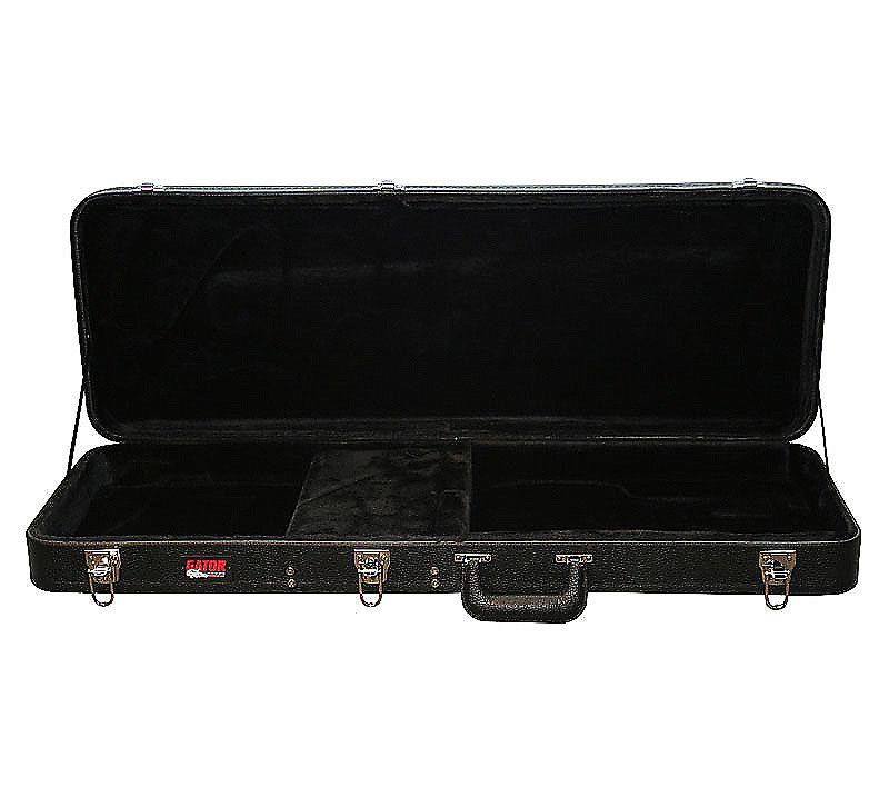 gator gwe jag offest style deluxe wood guitar case reverb. Black Bedroom Furniture Sets. Home Design Ideas