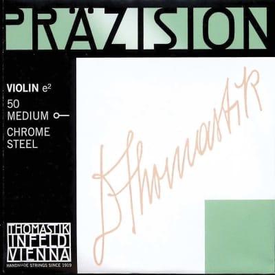 Thomastik-Infeld 50 Precision Stainless Steel 4/4 Violin String - E (Medium)