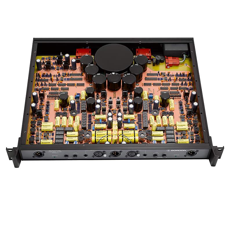 Gordon Audio Model 5 Stereo Mic Preamp w/ GC32 Remote Control