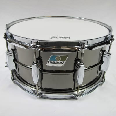 Ludwig LB417 New B-Stock 6 1/2 X 14 Black Beauty Snare Drum